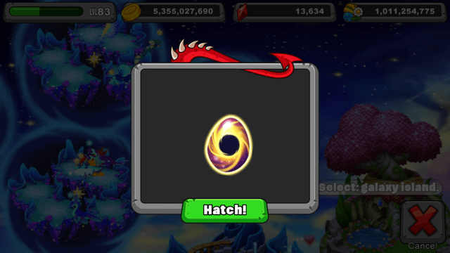 DragonVale Singularity Dragon Egg