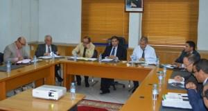 اجتماع لجنة الميزانية والشؤون المالية والبرمجة بمجلس جهة سوس ماسة