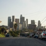 Visita a Los Angeles, capital de California, Estados Unidos