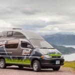 Autocaravana High Kick de OutThereCampers, Esocia, Reino Unido