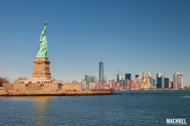 La Estatua de la Libertad y Nueva York