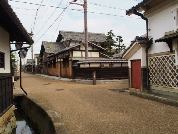 PA050074 近江商人の築いた町,五個荘 / Gokasho, attractive Japanese traditional architectures