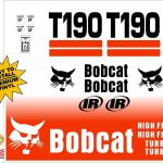 Bobcat T190 Replacement decal kit