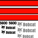 Bobcat Toolcat 5600 early replacement decal kit sticker set