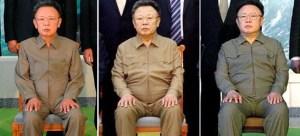 Kim Jong Il x 3