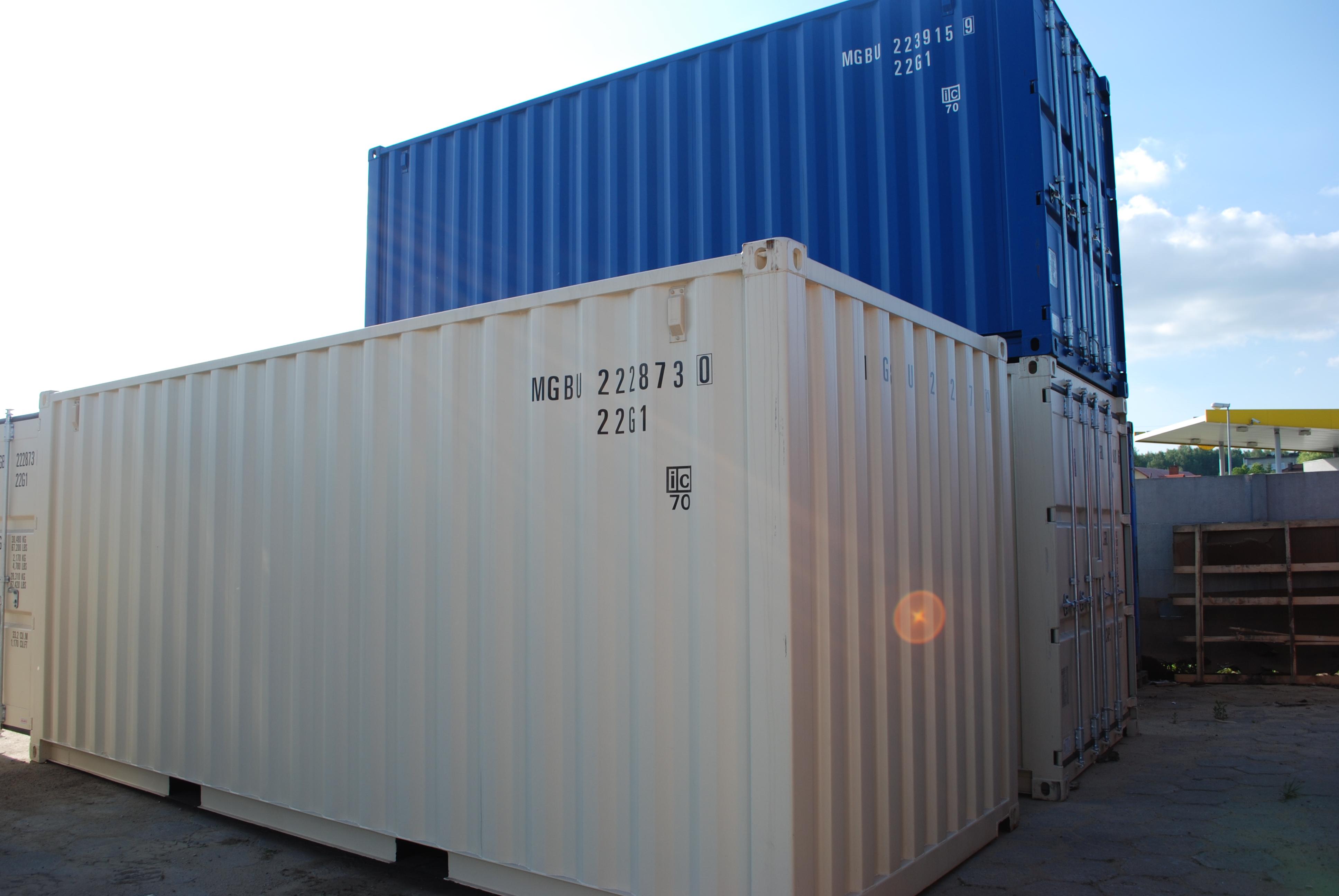 Machnik kontenery morskie nowe 10ft 20ft 40ft HC
