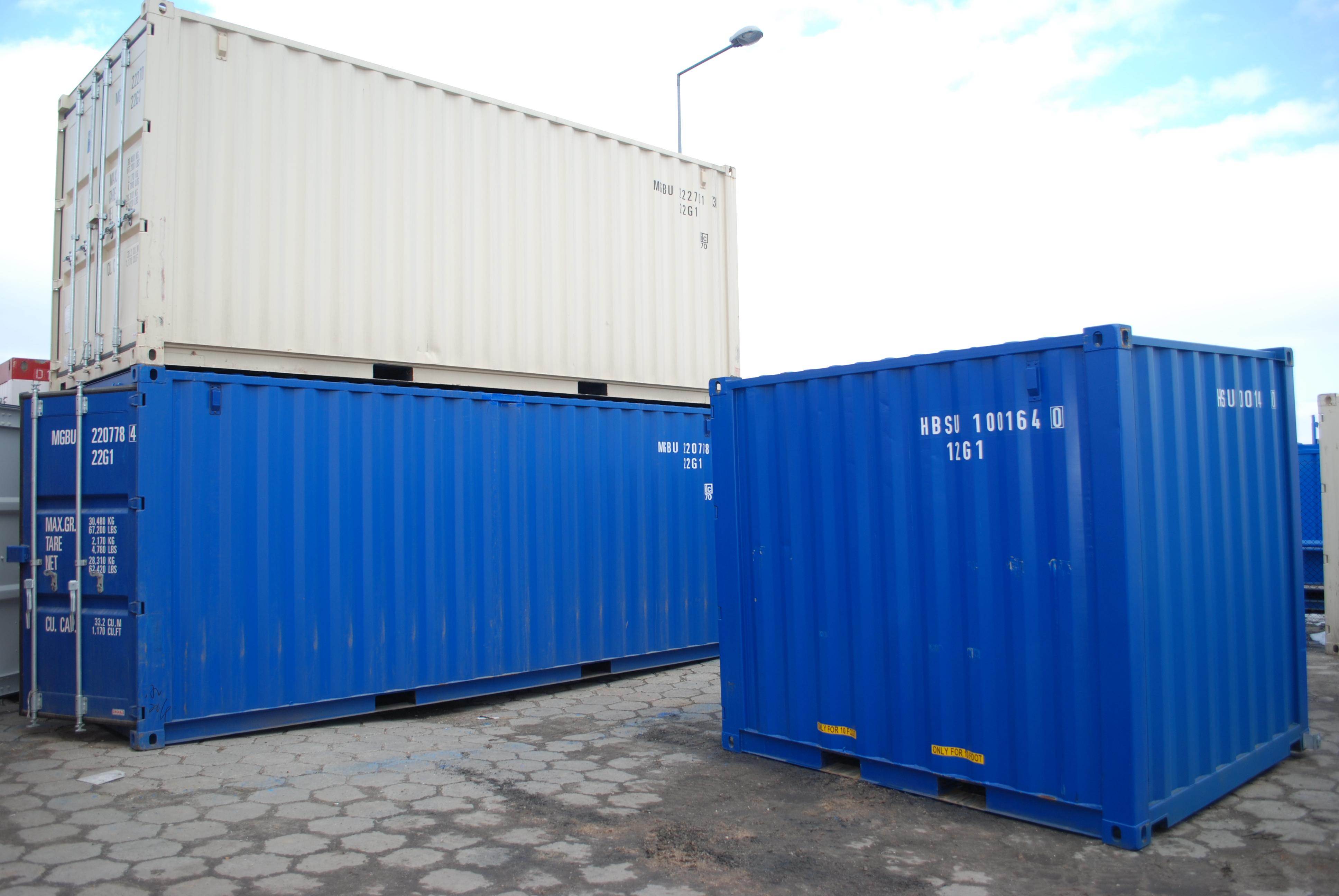 Machnik kontenery magazynowe