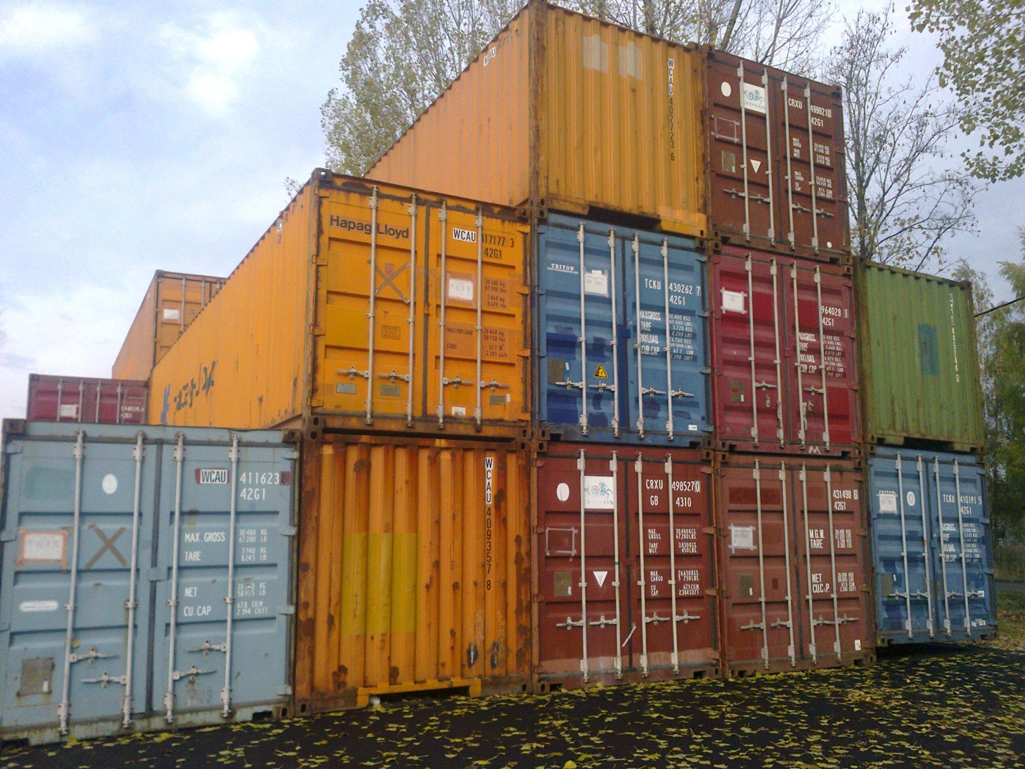 Machnik kontenery używane