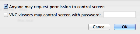 how to share a screen on mac settings 2