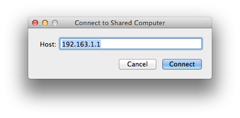 how to share screen on mac