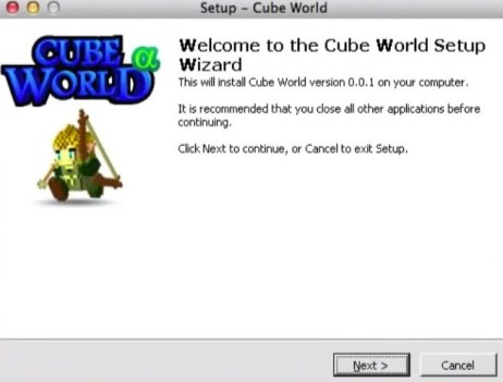 cube world for mac install