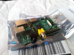 Raspberry Pi zaraz po unboxingu :)