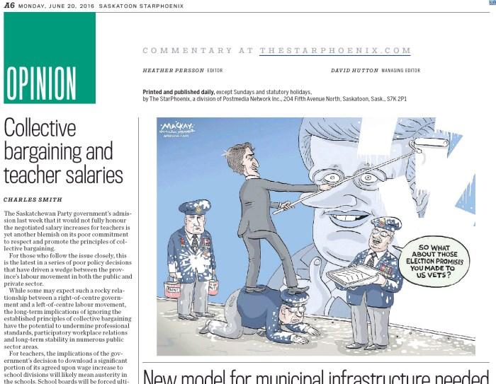 Published in the Saskatoon Star-Phoenix