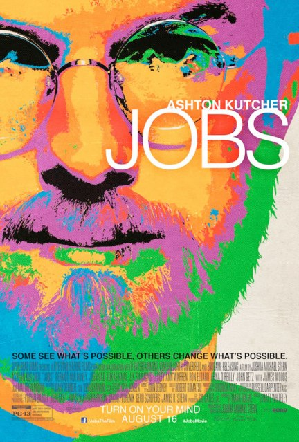 "Cartaz do filme ""JOBS"""