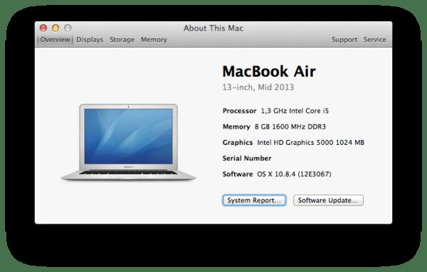 MacBook Air (Mid 2013)