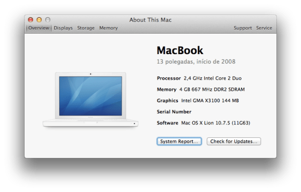 MacBook (Early 2008)