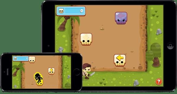 Jogo Trap Raider para iOS