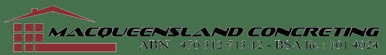 Macqueensland Concreting – Brisbane and Redlands Concreting