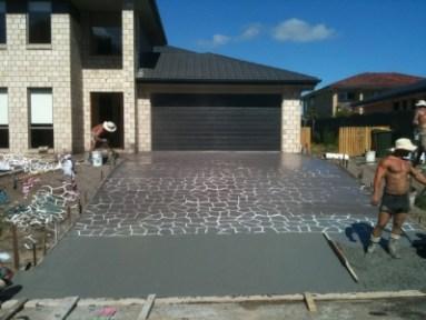 concrete stenciling brisbane