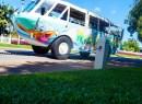 A tour bus in Darwin