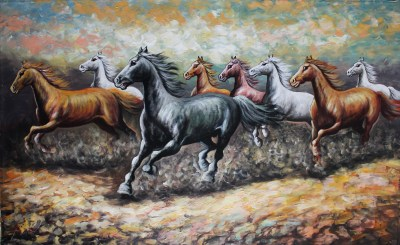 Stunning Horse Painting | Mad About Bali Paintings