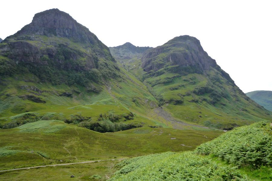 Glencoe, Highlands escocesas