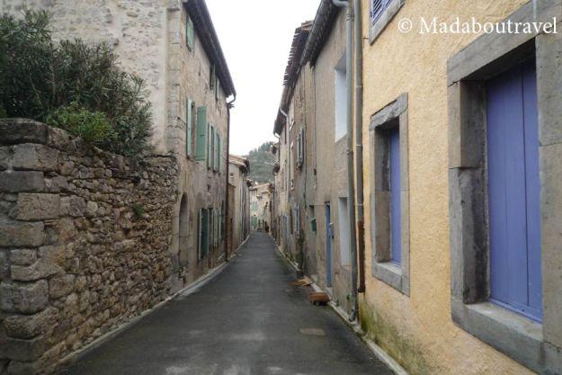 Pueblo medieval de Lagrasse