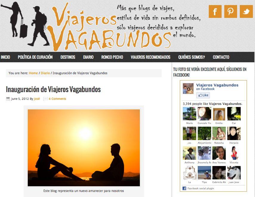 Entrevista a Madaboutravel en el blog Viajeros Vagabundos
