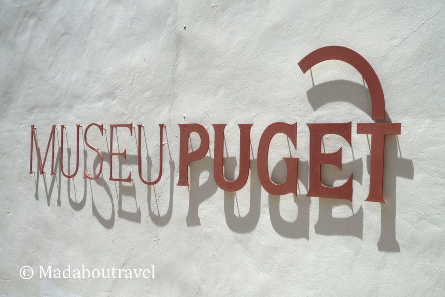 Cartel del Museu Puget