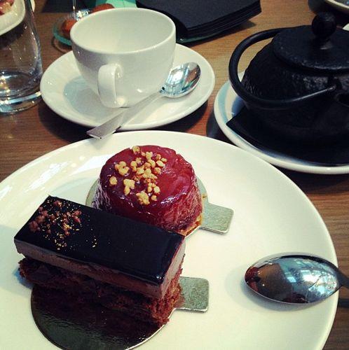Dulces en el Afternoon tea del hotel Mandarin Oriental de Barcelona