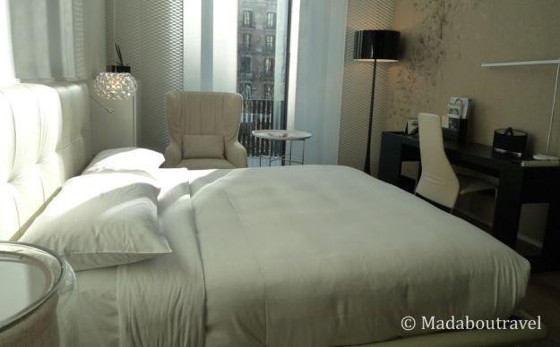 Habitación estándar en el Hotel Mandarin Oriental de Barcelona