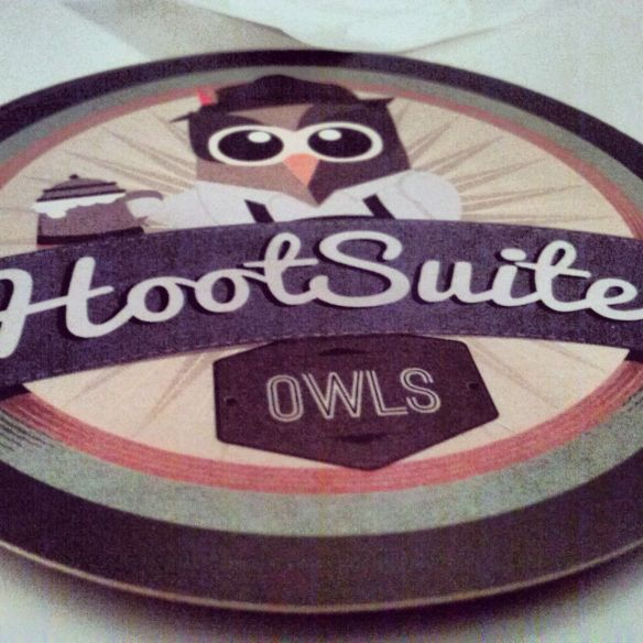 Hootsuite esponsor de la Blog Night Out de Aspasios