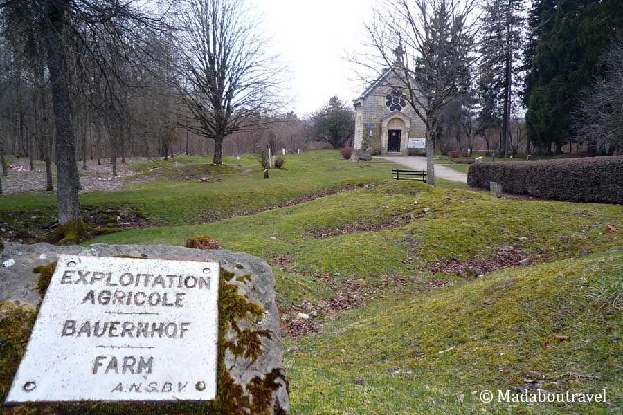 Pueblo destruido de Fleury, en el campo de batalla de Verdún