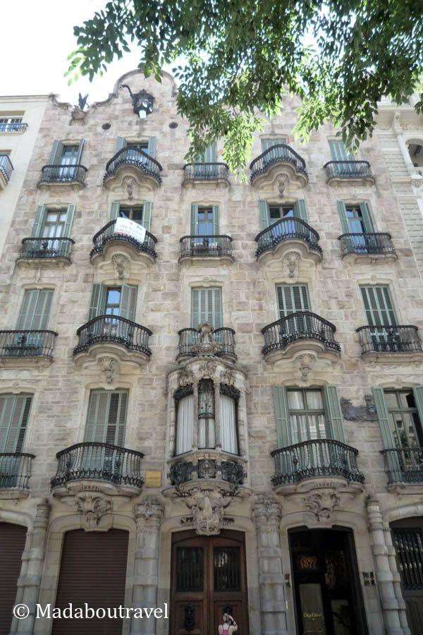 Ruta por la barcelona modernista en bici con weplann mad - Casa modernista barcelona ...