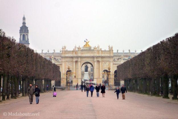 Plaza de la Carrière de Nancy