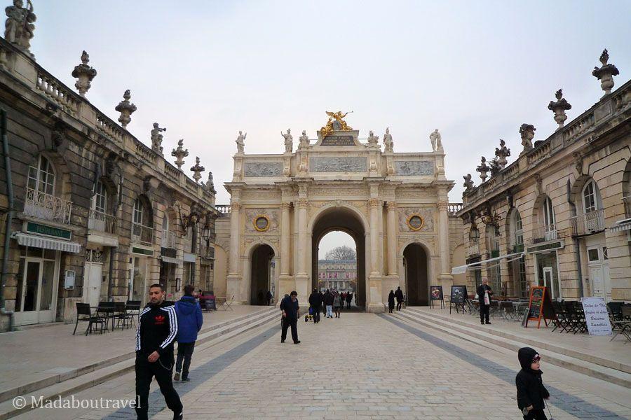 Plaza Stanislas, en Nancy