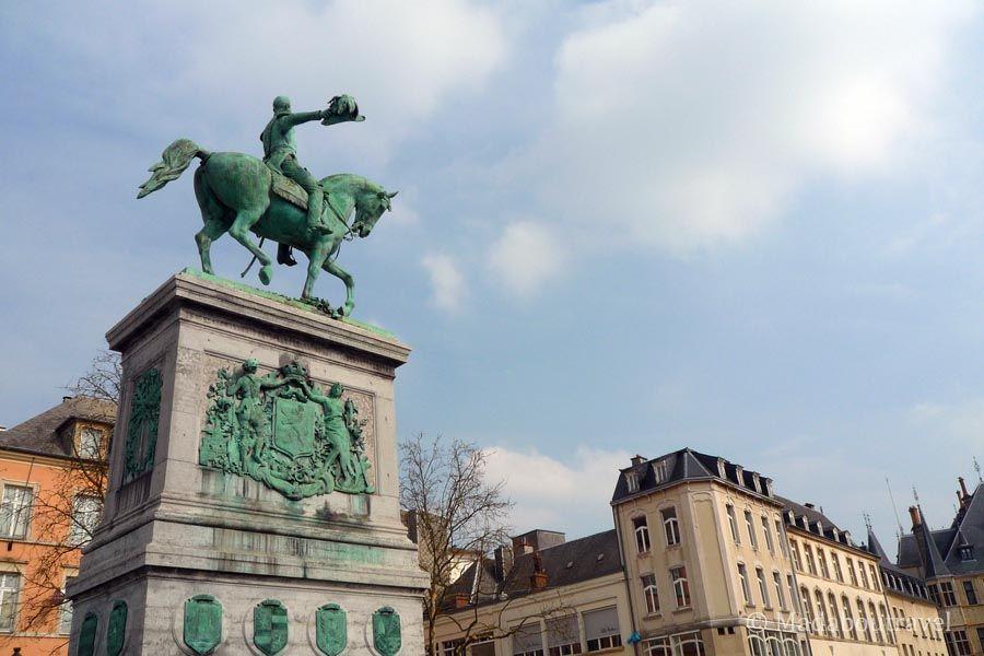 Plaza Guillaume II de Luxemburgo