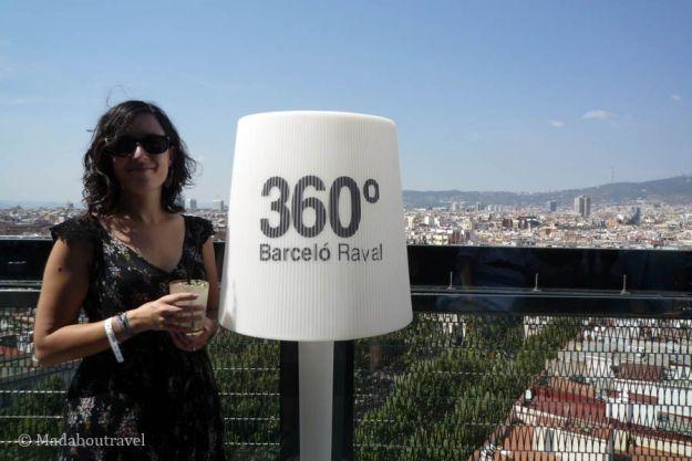 Unas de las mejores vistas de Barcelona, sin ninguna duda