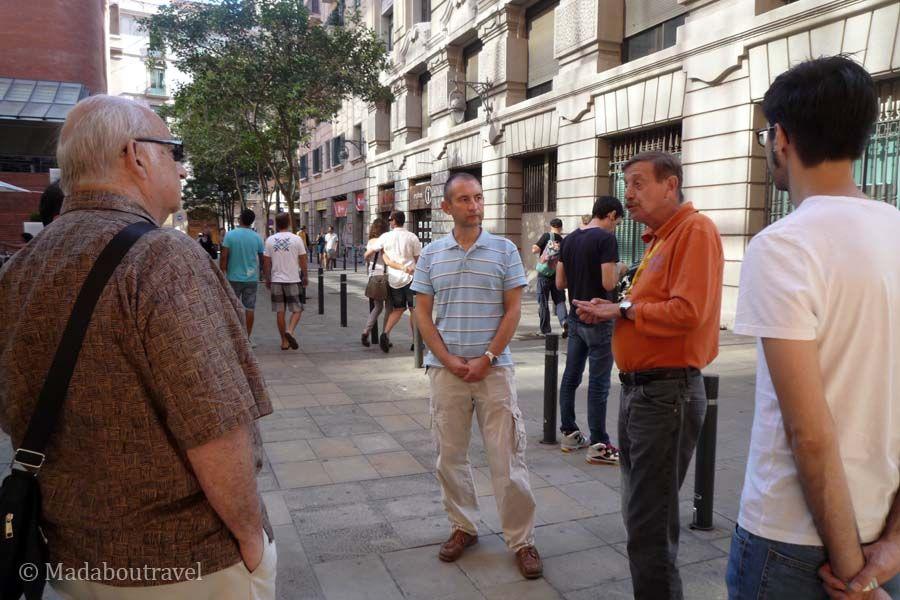 Tour con Artur, guía de Barcelona Guide Bureau