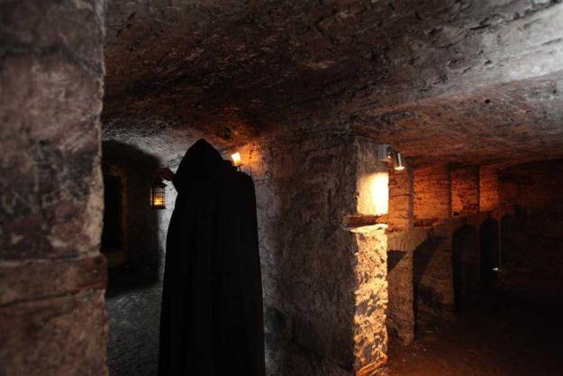 Dentro de The Vaults © Mercat Tours
