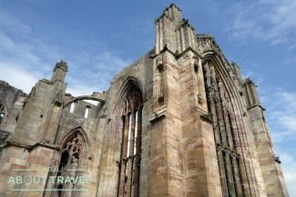 Abadía de Melrose en Escocia