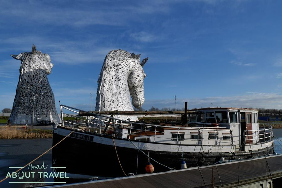 Los kelpies en Escocia