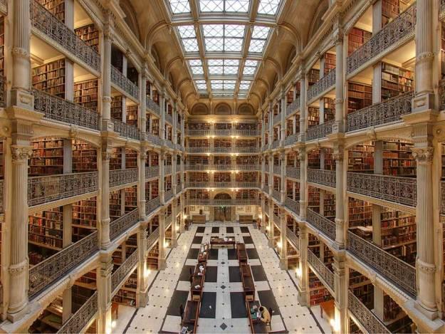 Biblioteca George Peabody en Baltimore