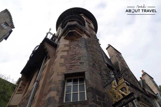 Tour Outlander - Museo de los Escritores Edimburgo