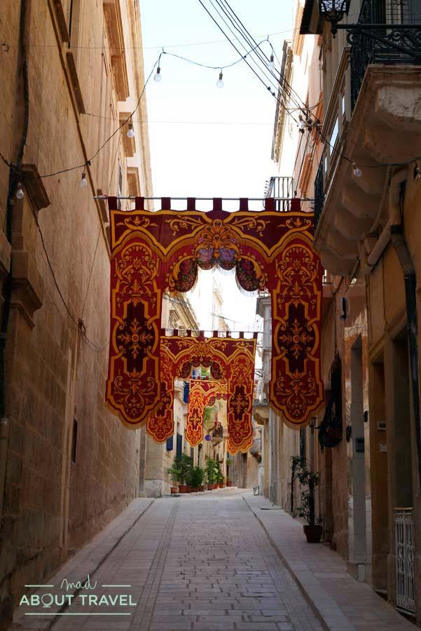 Calles de Las Tres Ciudades de Malta