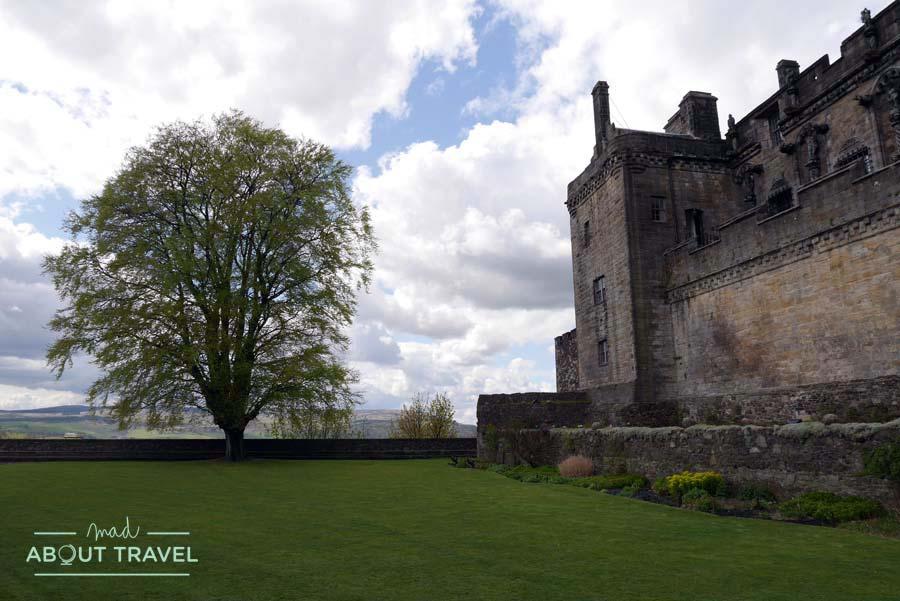 Jardín de la Reina Ana en el castillo de Stirling