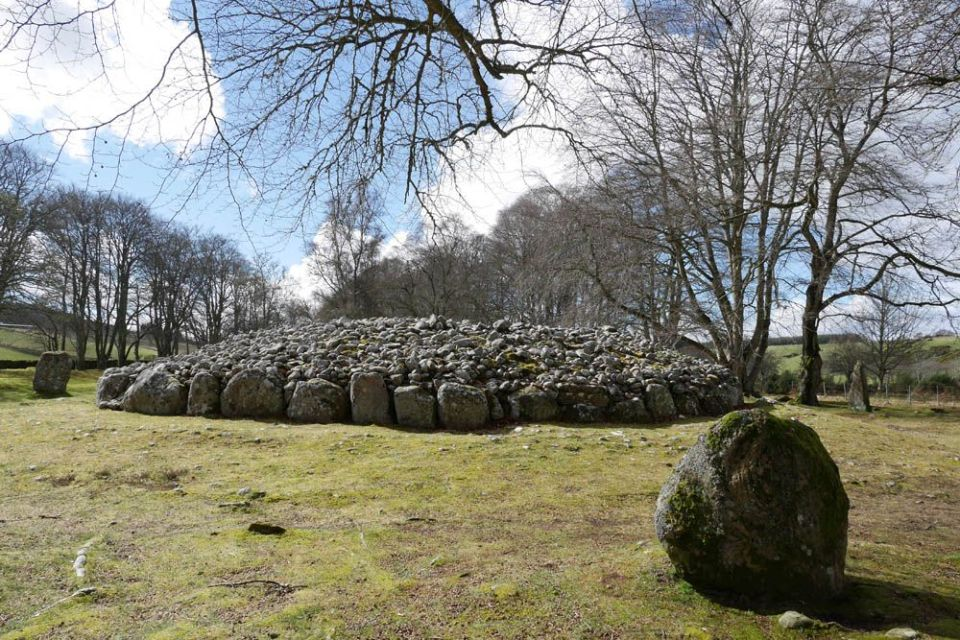 Clava Cairns en Inverness