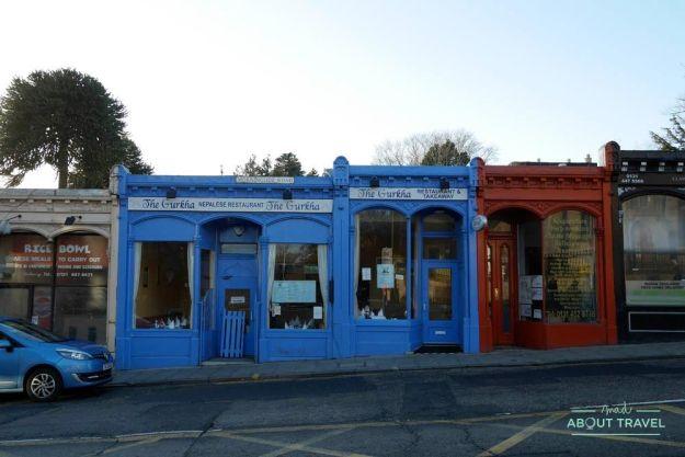 restaurante nepalí The Gurkha en el barrio de Morningside, Edimburgo