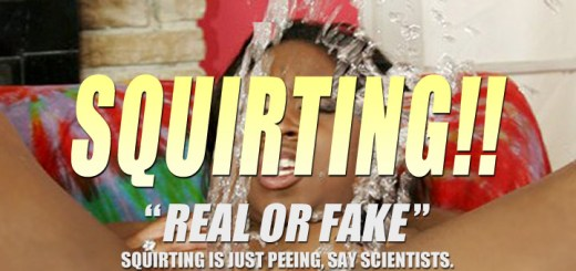 Squirting just Peeing