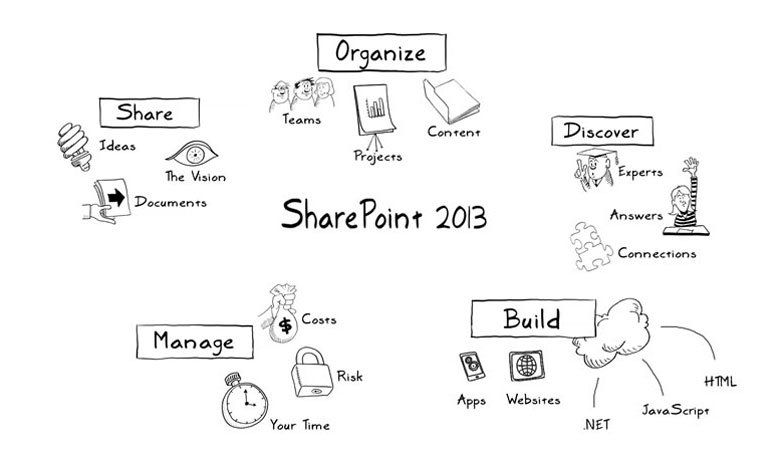 Microsoft SharePoint whiteboard animation